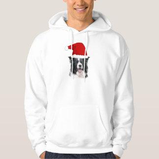 Ditzy Dogs~Border Collie Hoodie~Christmas Hoodie