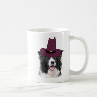 Ditzy Dogs~Border Collie Mug~Thanksgiving