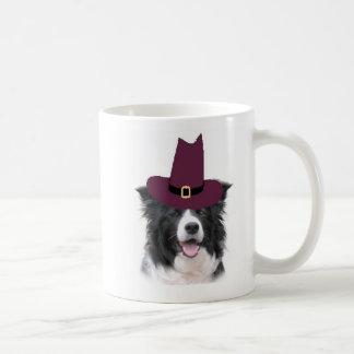 Ditzy Dogs~Border Collie Mug~Thanksgiving Basic White Mug