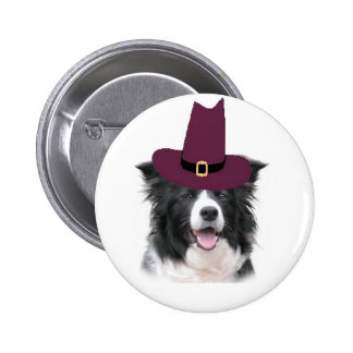 Ditzy Dogs Border Collie Pin Thanksgiving