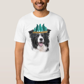 Ditzy Dogs~Border Collie Tee~Thanksgiving T Shirt