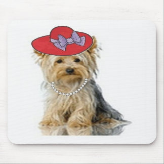 Ditzy Dogs~Original Mousepad~Yorkie Mouse Pad