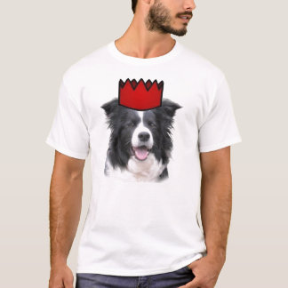 Ditzy Dogs~Original Tee~Border Collie~Father's Day T-Shirt