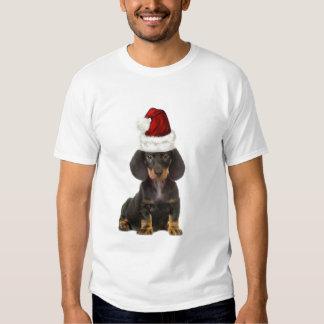 Ditzy Dogs~Original Tee~Doxie~Santa T Shirt