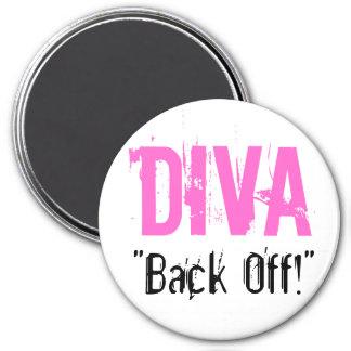 """DIVA, """"Back Off!"""" Magnet"""