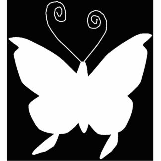 Diva Butterfly I Standing Photo Sculpture