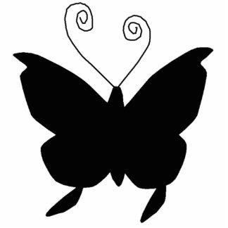 Diva Butterfly Standing Photo Sculpture