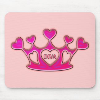 DIVA CROWN MOUSE PAD
