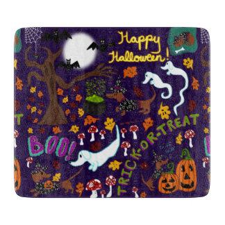 Diva Dachshund's Halloween Cutting Board