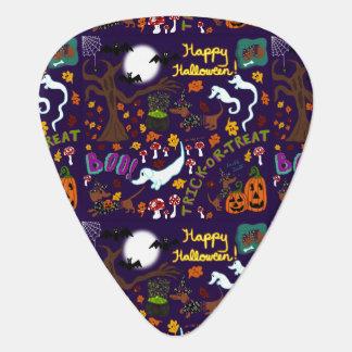 Diva Dachshund's Halloween Guitar Pick