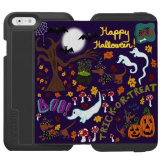 Diva Dachshund's Halloween Incipio Watson™ iPhone 6 Wallet Case