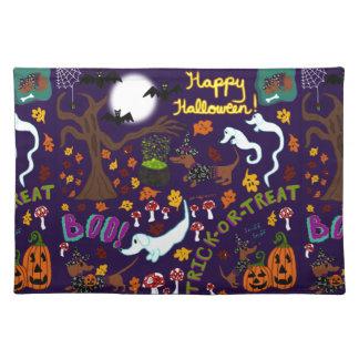Diva Dachshund's Halloween Placemat