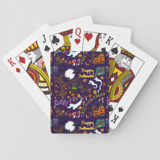 Diva Dachshund's Halloween Playing Cards
