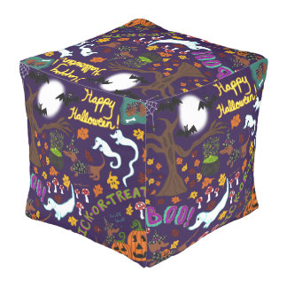 Diva Dachshund's Halloween Pouf
