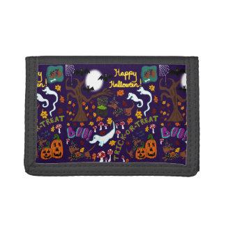 Diva Dachshund's Halloween Trifold Wallet