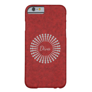 Diva diamond bling barely there iPhone 6 case