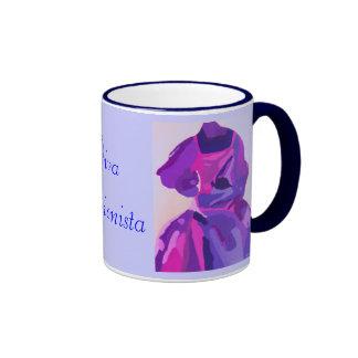 Diva Fashionista In Blue Mugs