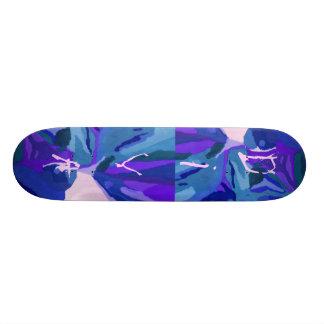 Diva Fashionista In Blue Skateboard Decks