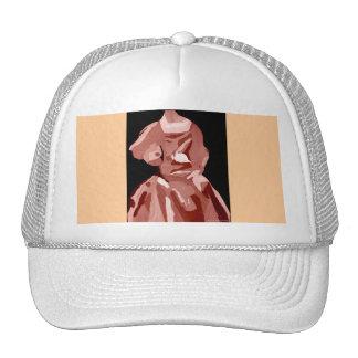 Diva Fashionista In Neutral Trucker Hat