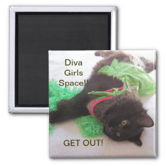 DIVA GIRL LOCKER MAGNET