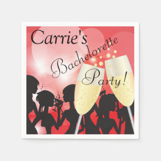 Diva Girls Night Out Disposable Napkins