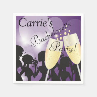 Diva Girls Night Out Paper Napkin
