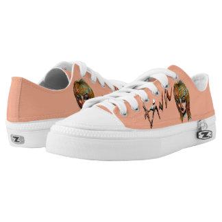 Diva Glitch Low-Top Sneakers