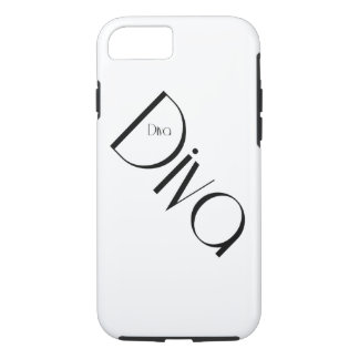 Diva iPhone hard shell case