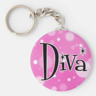 Diva keychain