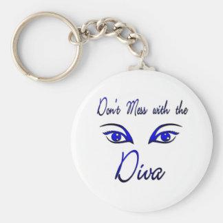 Diva! Keychain