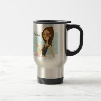 Diva LADY LOGO, Diva Cafe Travel Mug