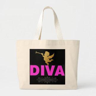 Diva Large Tote Bag