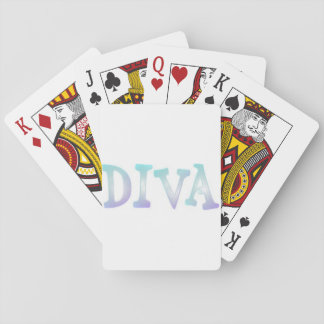 Diva Playing Cards