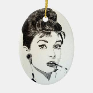 Diva Pop Art Ornament
