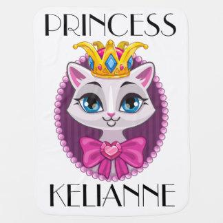 Diva Princess Kitty Cat Blanket
