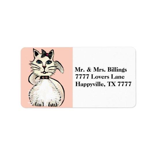 Diva Prrrisy Kitty Label