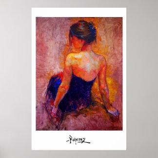 """Diva (study) ""by Ruiperez Poster"