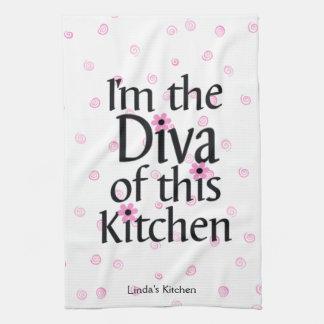 Diva Tea Towel