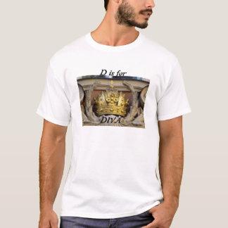 Diva Tee Shirt with Trim