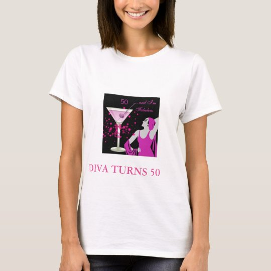 Diva turns 50 T-Shirt