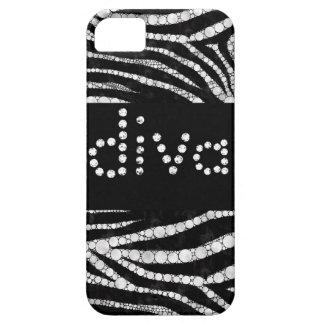 DIVA Zebra Bling iphone5 cases
