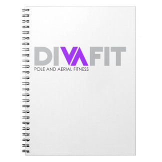 DivaFit Spiral Notebook (Light)
