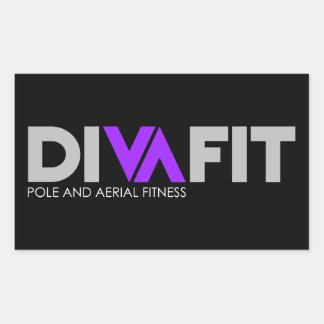 DivaFit Sticker (Dark)