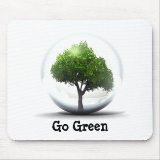 Diva's Go Green Mousepad