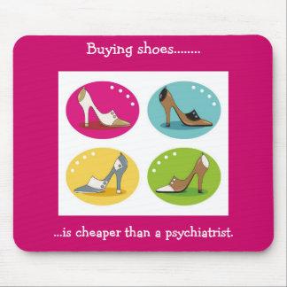 Diva's Love Shoes Mousepad