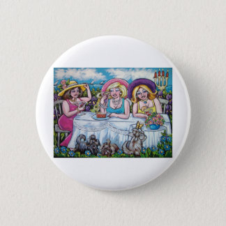 DIVAS PICNIC BY THE SEA 2 INCH ROUND BUTTON