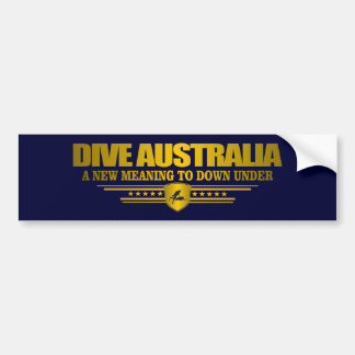 Dive Australia 3 Bumper Sticker