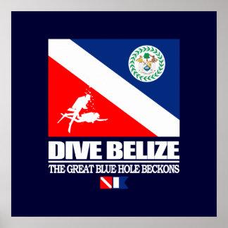 Dive Belize Poster