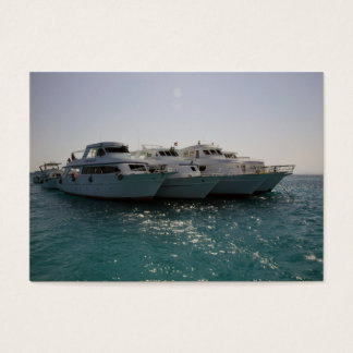 dive boats business card
