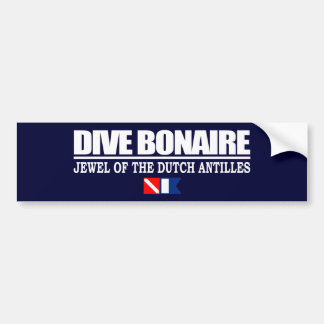 Dive Bonaire Bumpersticker Bumper Sticker